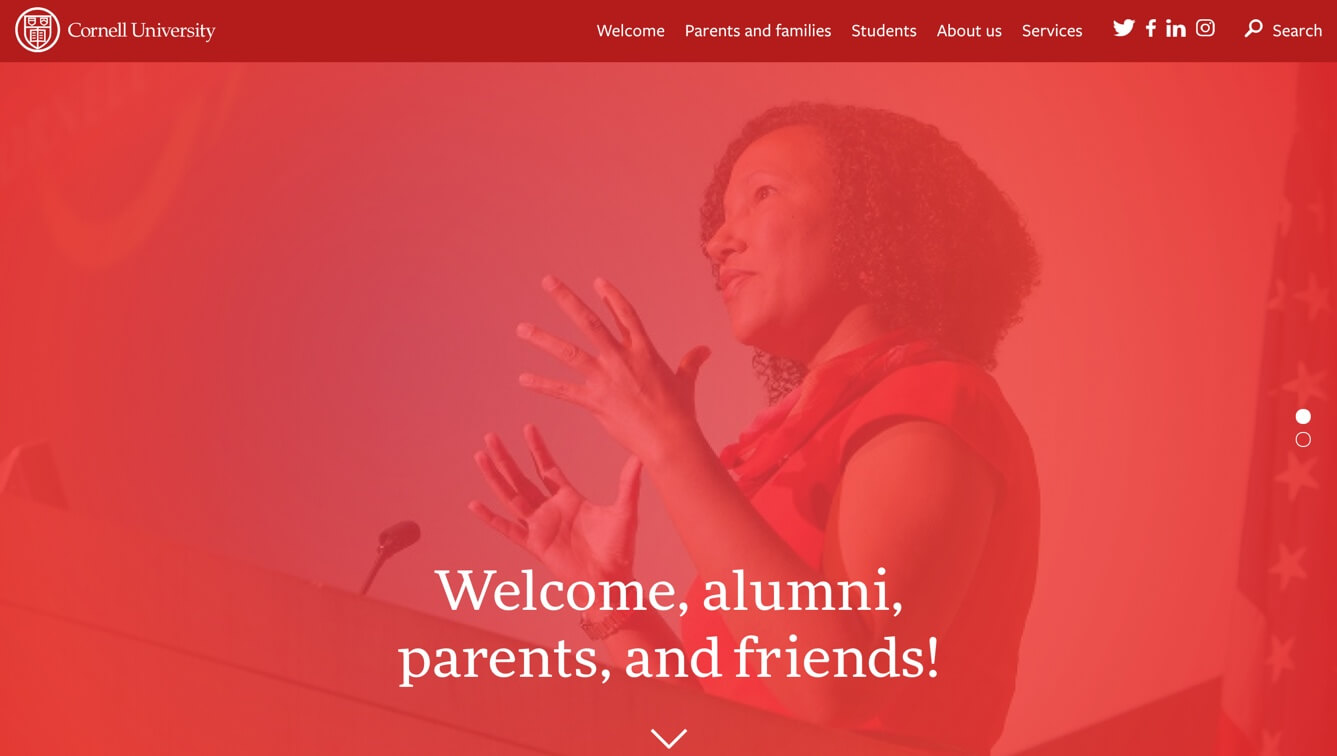 Cornell Alumni, Parents, and Friends