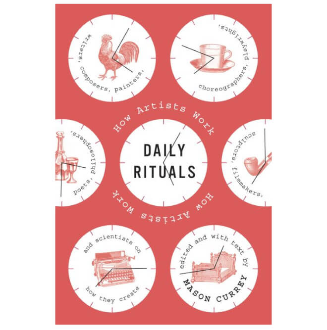 Cover of Mason Currey's Daily Rituals